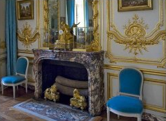 Every Christmas Louis XVI would use this room to present the newest porcelain from Sèvres - these pieces are still considered some of the most exquisite ...
