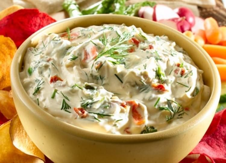 Creamy dilled vegetable dip knorr us recipe