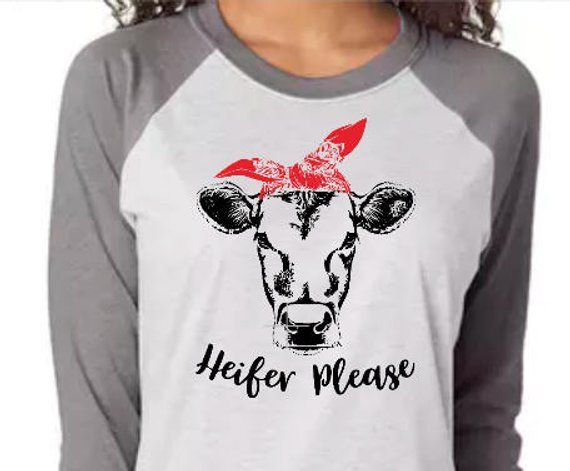 1102d44e1 Heifer Please Shirt, Cute Cow Shirt, Farm Shirt, Cowgirl Shirt, Western  Shirt, Funny Saying Shirt, C