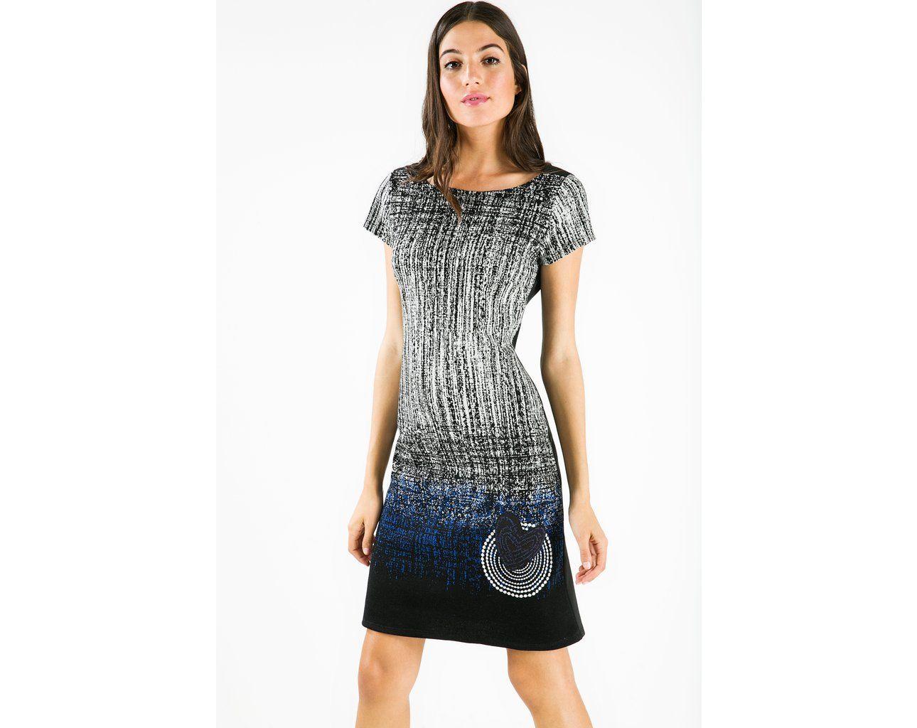 Short pinafore dress desigual h ideas pinterest woman