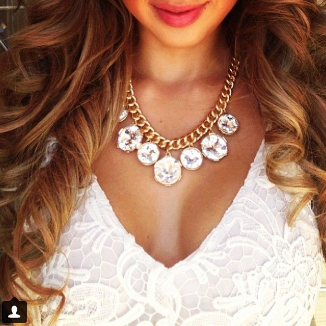 Visit www.princesspjewelry.com and get the cutest jewelry now! Item: Rich Girl Necklace #Padgram