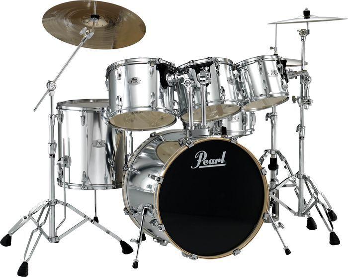 Pearl Export 5 Piece Fusion Floor Drum Set Drums Pinterest