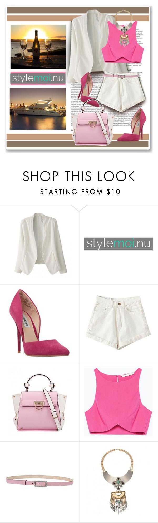"""Stylemoi.nu"" by ruza-b-s ❤ liked on Polyvore featuring ASOS, Steve Madden, Zara, Valentino and stylemoinu"