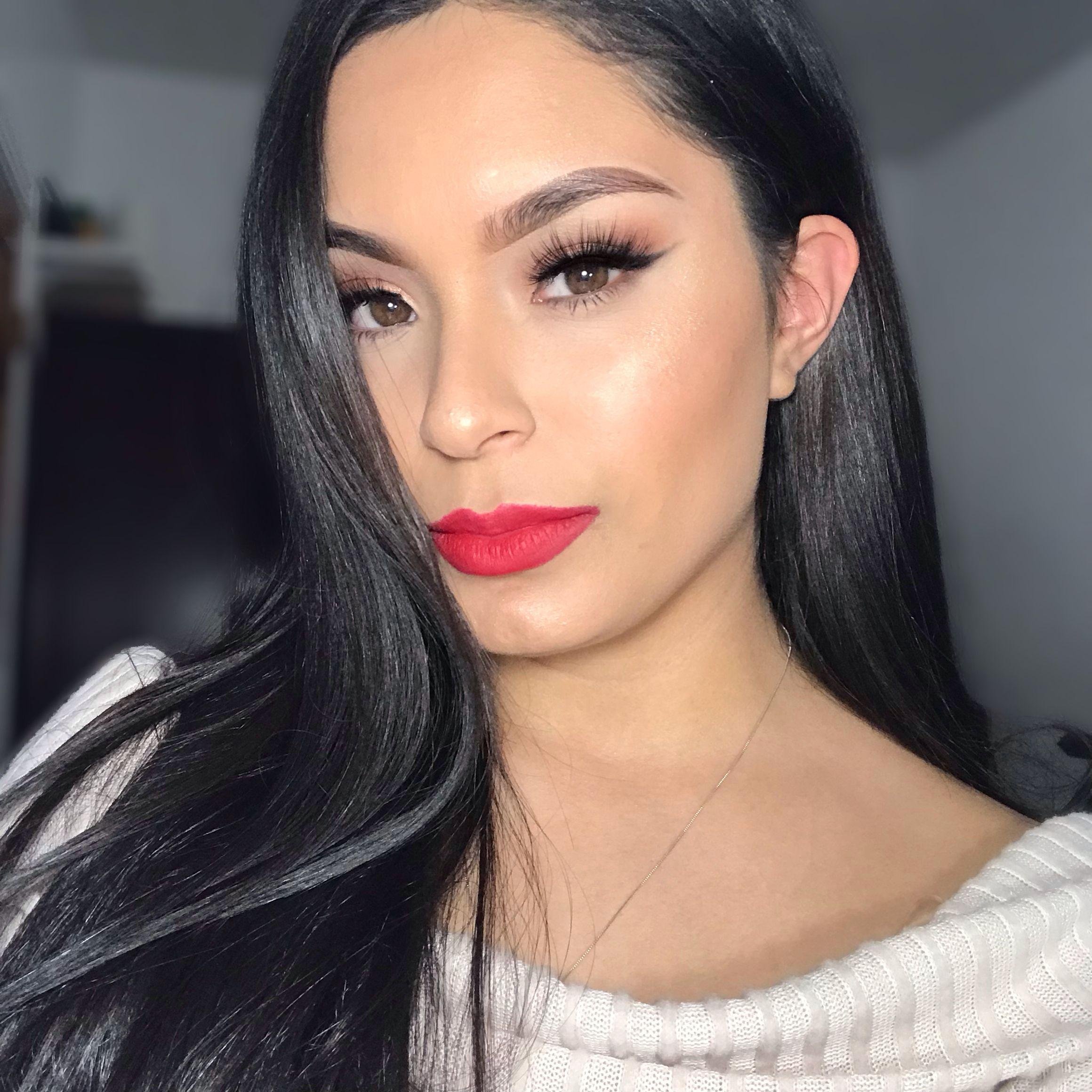 Mega matte lipstick dominate Lipstick, Glam makeup