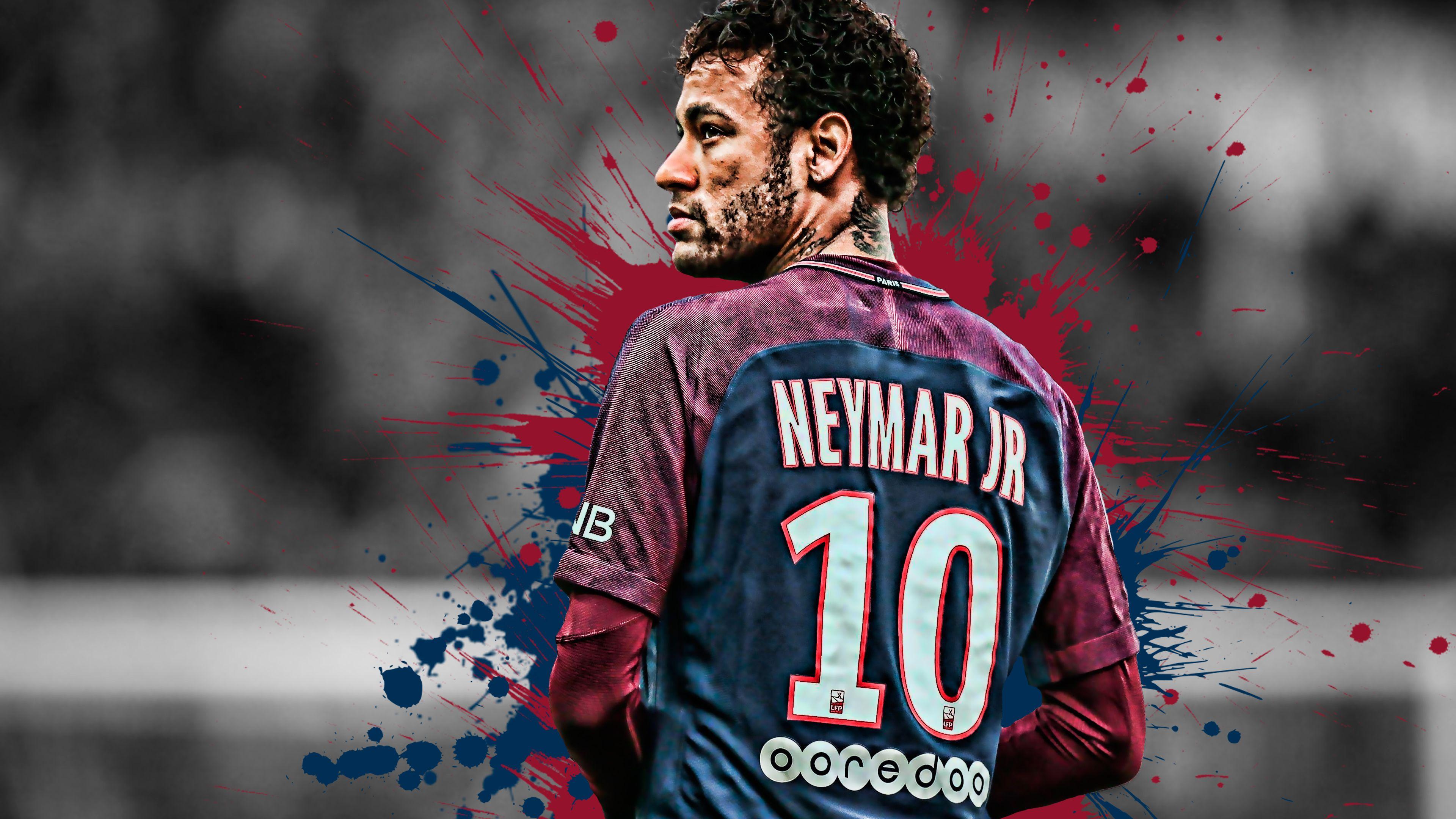 Neymar Brazilian Football Player 4k Neymar Football Players Neymar Jr