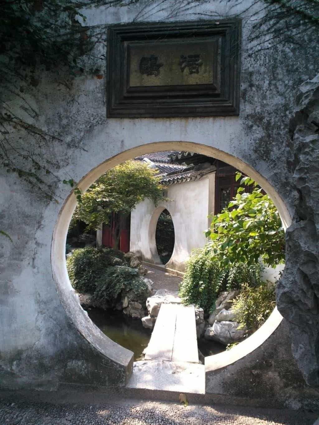 4 Nice chinese garden design for your backyard -   15 garden design Chinese backyards ideas