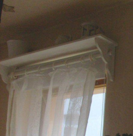 Tipp von ichdiemicha Gardinenstange Regal - Zimmerschau obýváky - Gardinen Landhausstil Wohnzimmer