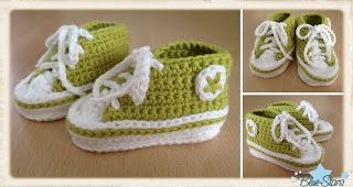 Blue Stars Anleitung Für Baby Chucks Projects To Try Pinterest