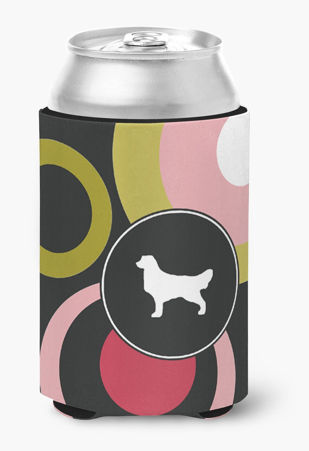 Golden Retriever Can or Bottle Beverage Insulator Hugger