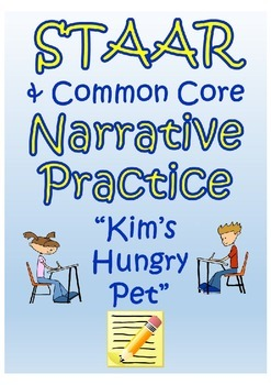 """STAAR Reading Comprehension Practice- """"The Hungry Pet ..."""