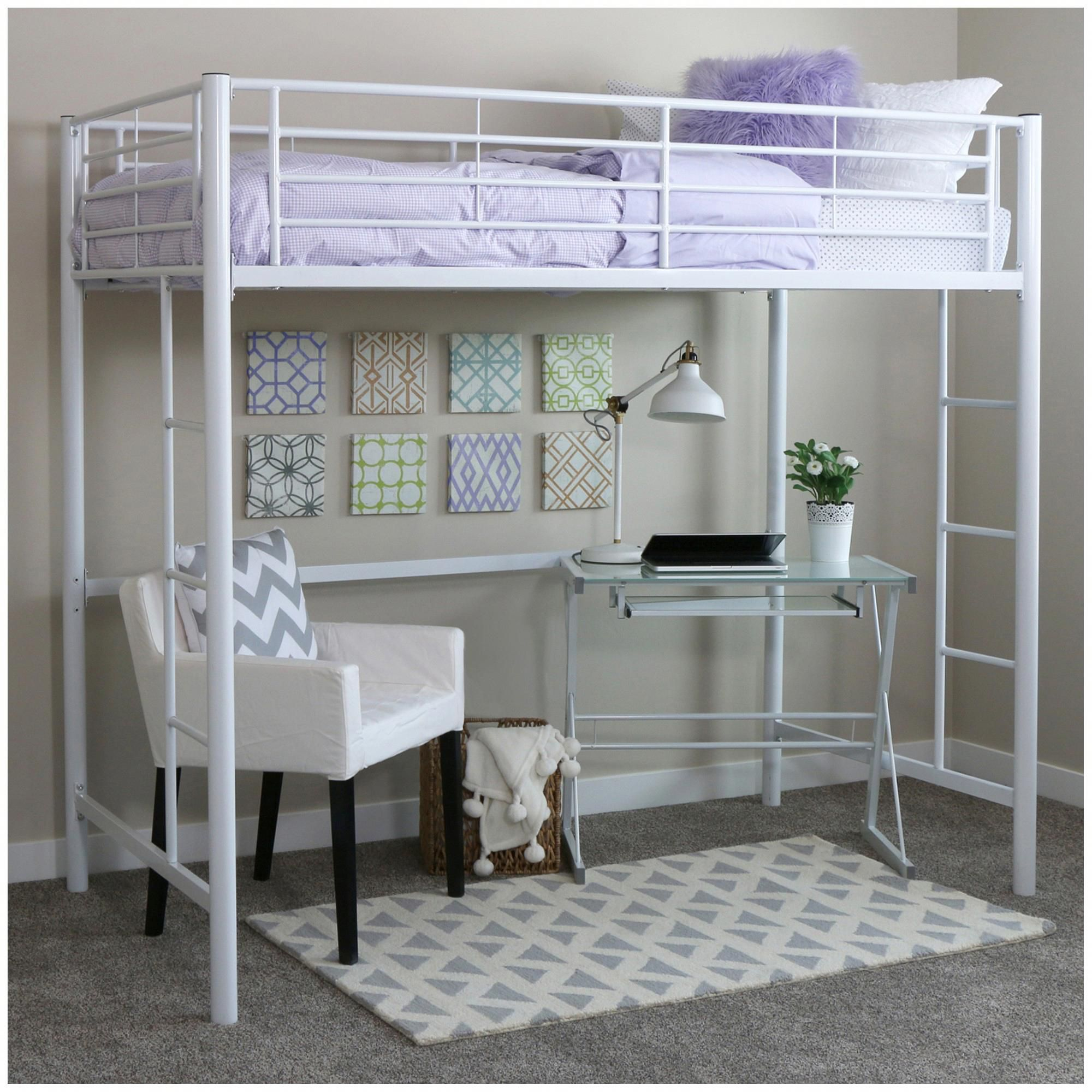 Bed Frame White Walker Edison Bunkbedideasfors Bunk Beds Loft