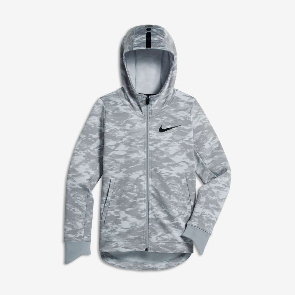 f656d9773cbf Nike Therma Elite Big Kids  (Boys ) Basketball Hoodie Size Medium (Grey)