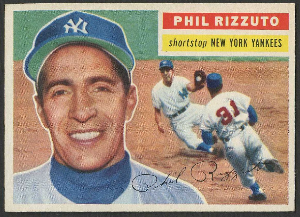 1956 Topps Phil Rizzuto Baseball Card Values Phil Rizzuto Baseball Cards