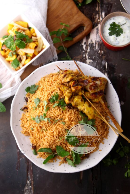 Resep Nasi Kabsah Ayam Oleh Amel Karmachameleon Resep Resep Makanan Resep Ide Makanan