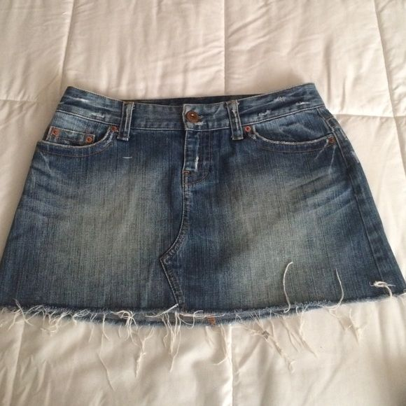 American Eagle Skirt American Eagle Denim Skirt it is about 10 inches long American Eagle Outfitters Skirts Mini
