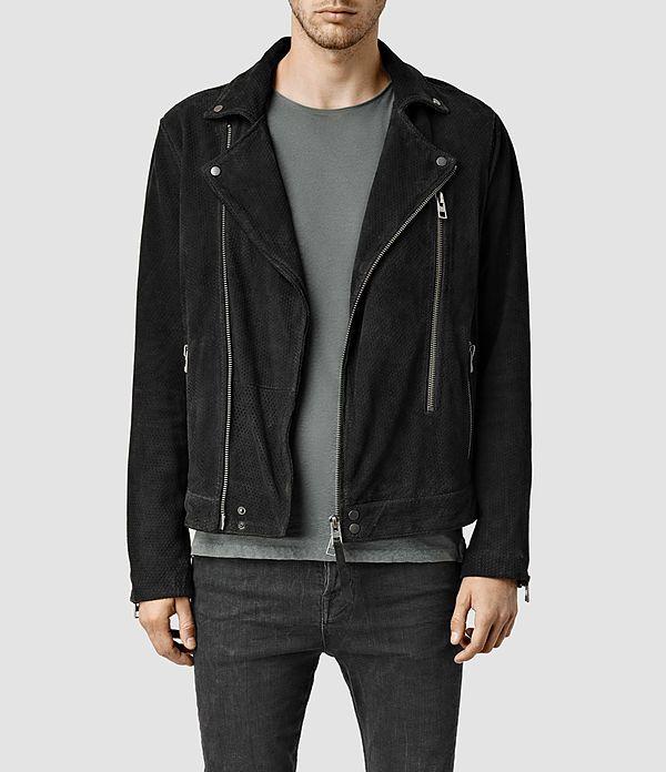 be7bcff2f77 Geo Suede Biker Jacket | Alınacak Listesi | Jackets, Leather men ...