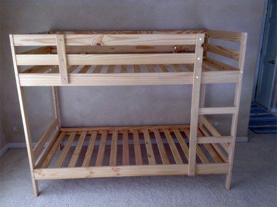 Wood Bunk Beds Ikea