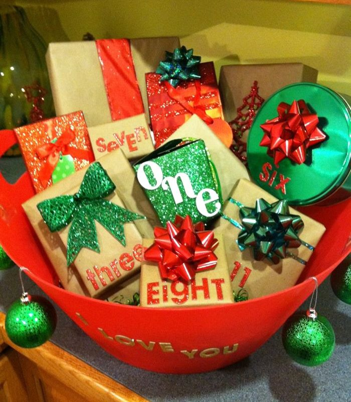 Diy Romantic Christmas Gifts: Christmas-advent-boyfriend-gifts