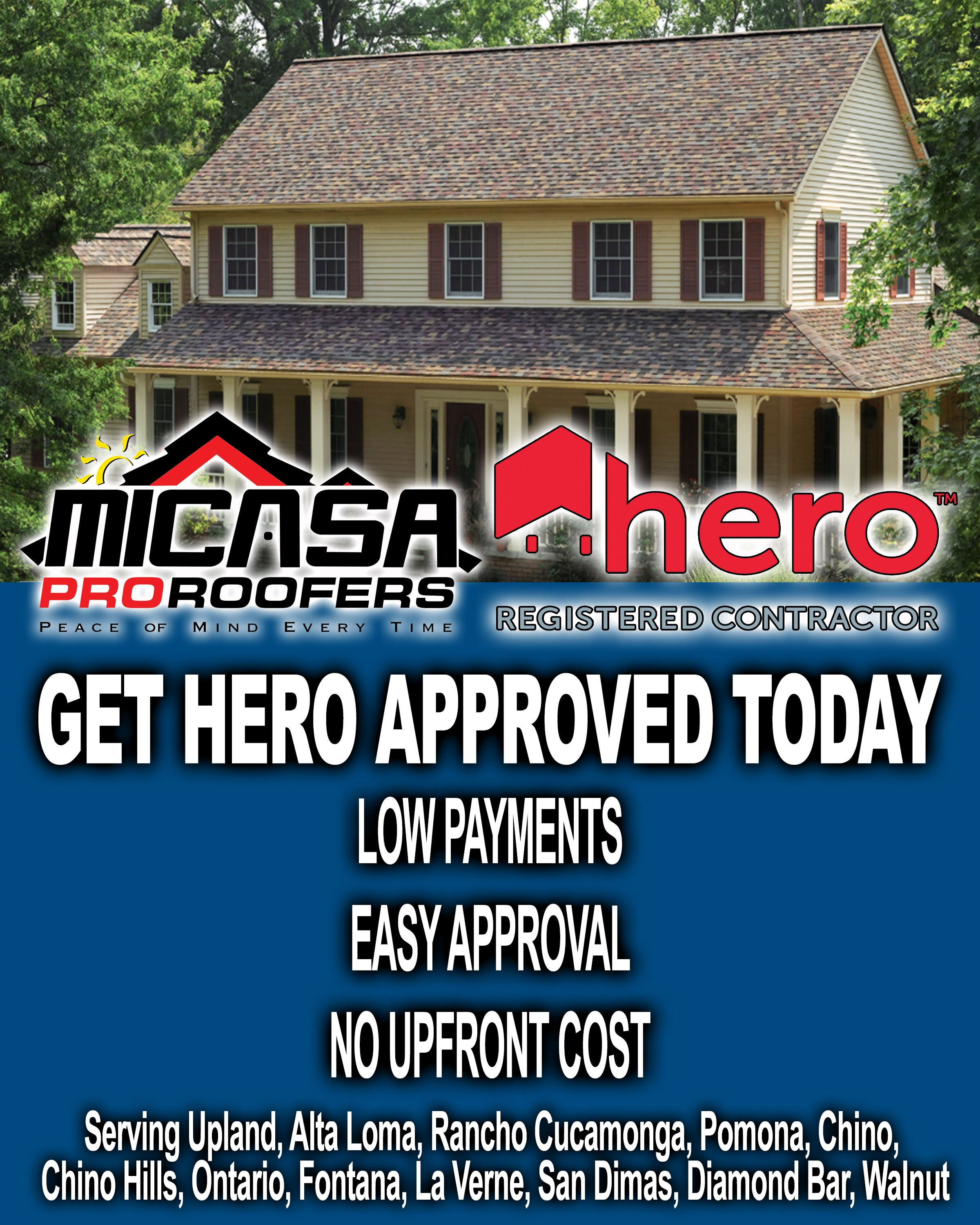 Pin By Micasa Roofing On Micasa Pro Roofers Upland Ads Alta Loma Roofing Business Cool Roof