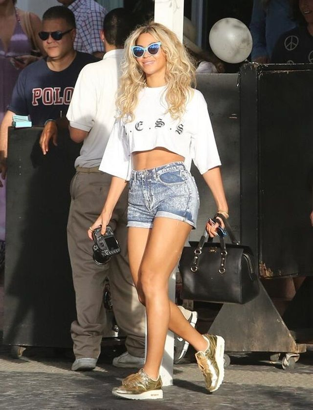 26f00357fdd86 This Is How Beyonce Does Sporty Casual