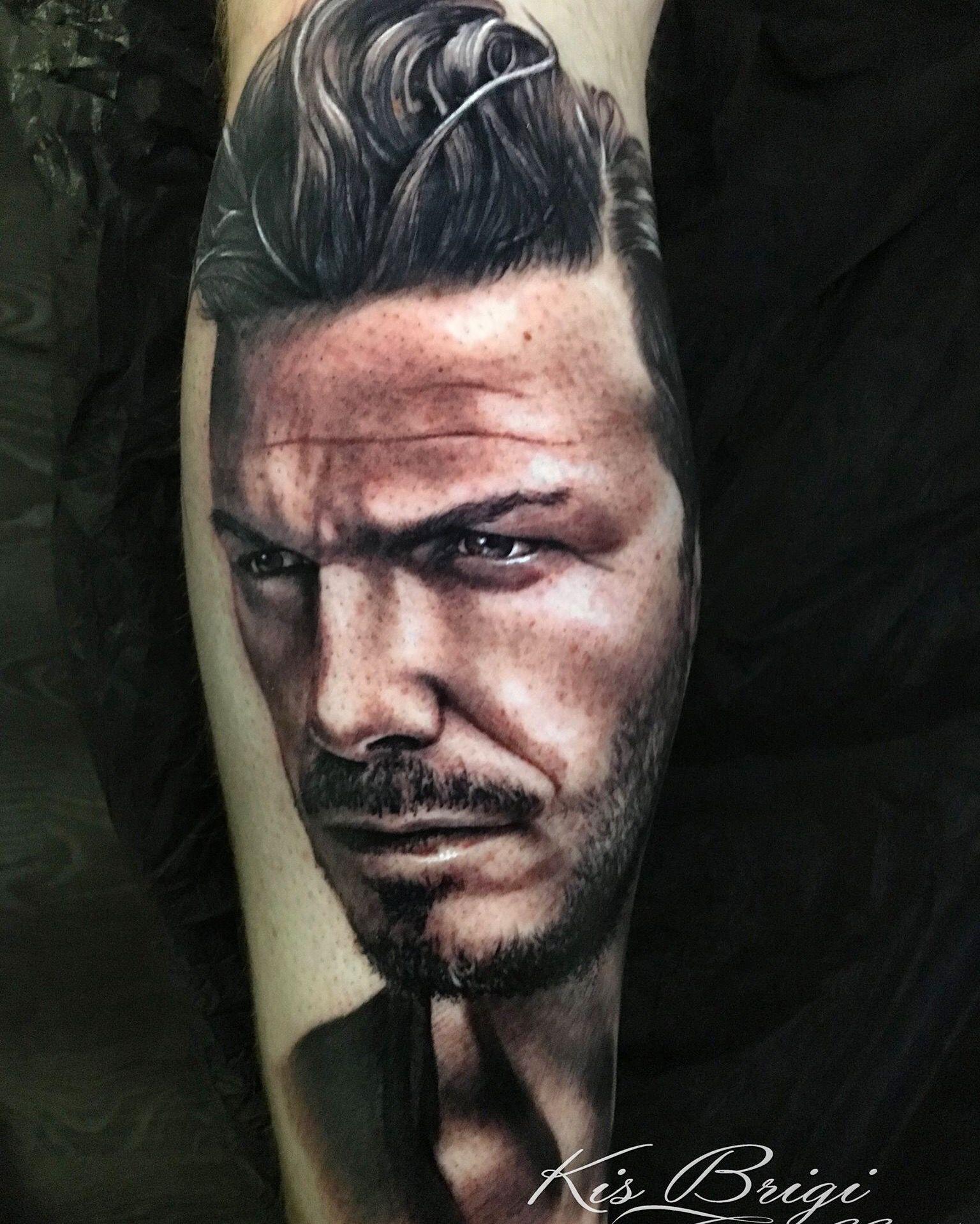 David Beckham Tattoo Artist