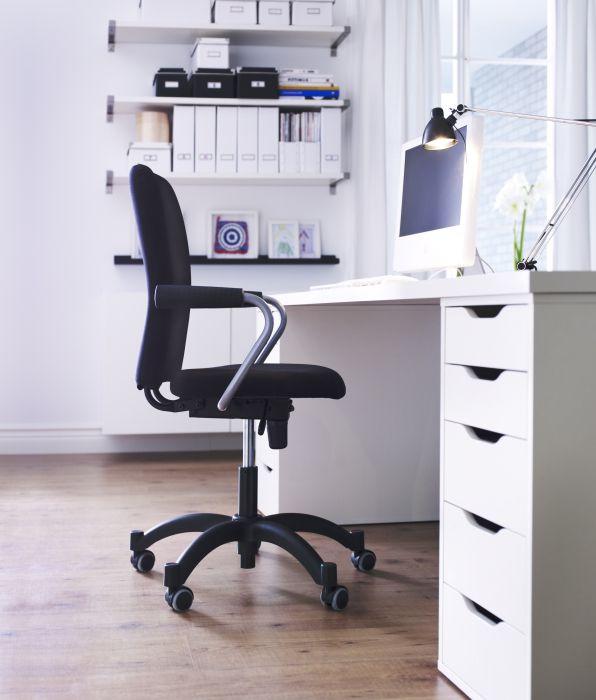 alex ladeblok met lades wit lades ikea en bureaus. Black Bedroom Furniture Sets. Home Design Ideas