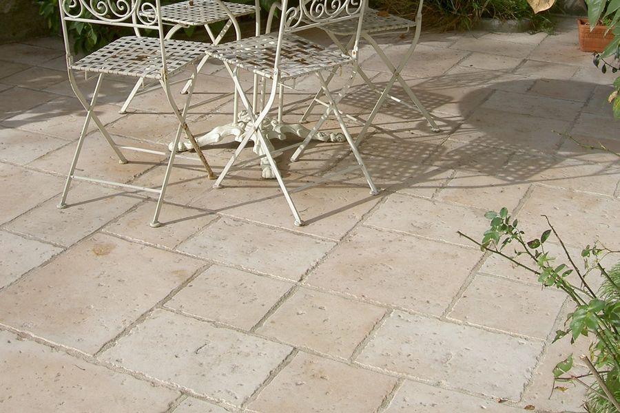 Dallage jardin cluny - Marlux - Moule réalisé par Techni-Moulage - pierre de dallage exterieur