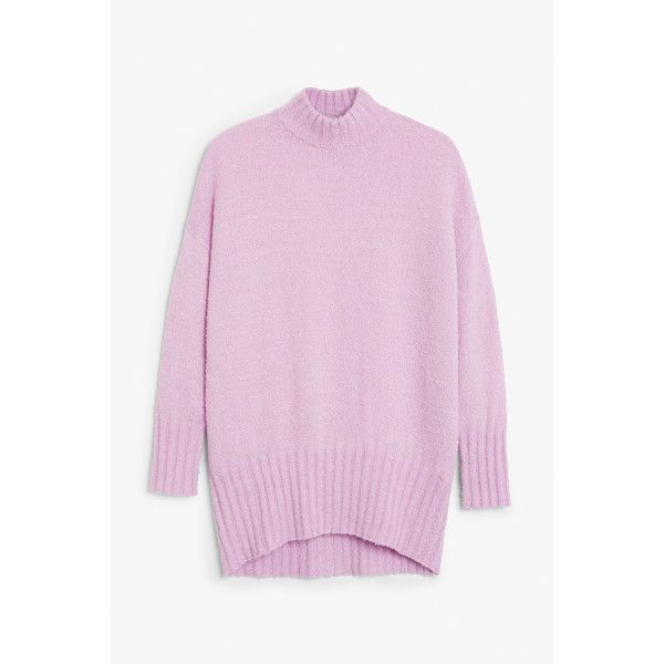 Monki | Knits | Cosy knitted sweater (2.030 RUB) ❤ liked on ...