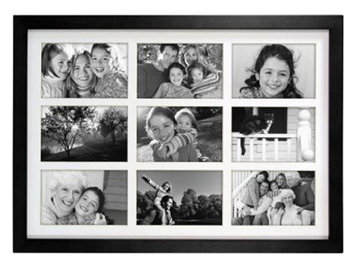4x6 Picture Malden International Designs Linear Classic Wood Picture Frame Gray