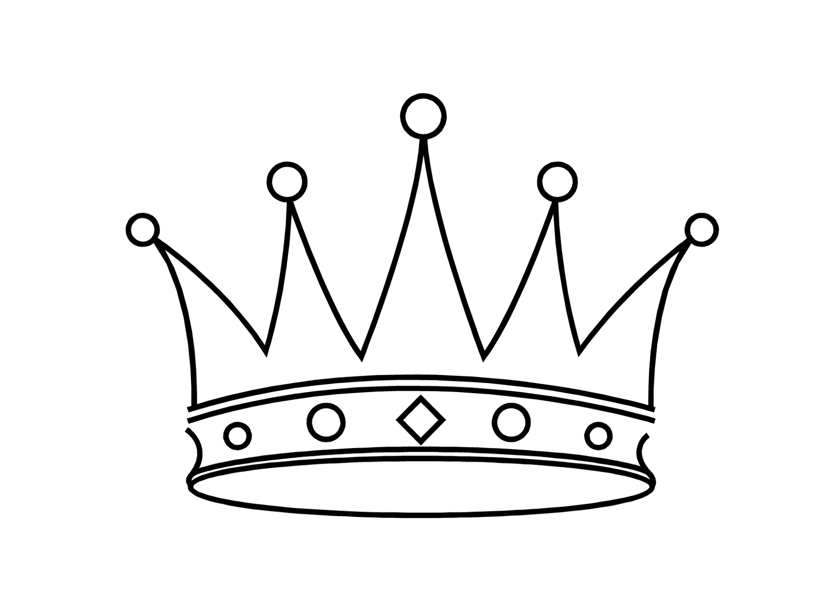 Princess Crown Cake Template Clipart Free to use Clip
