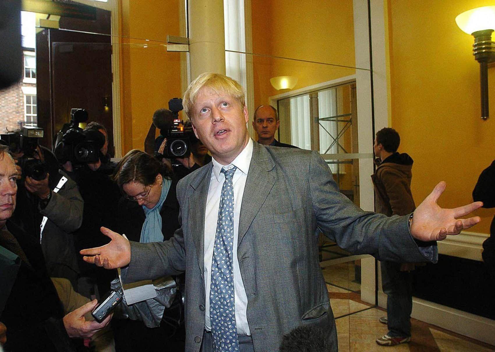 Boris Johnson in 2004 (Photo Getty) Boris johnson