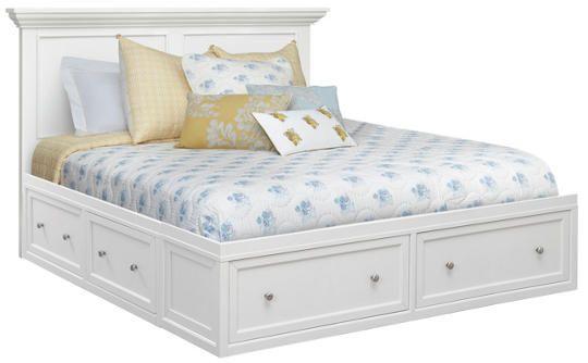 white king storage bed. Abbott White King Storage Bed - Art Van Furniture N