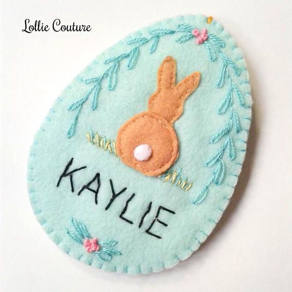 Personalized easter gift personalised easter ornament personalized easter gift personalised easter ornament negle Images