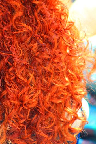 curly red hair omg would love to have red hair its just so fierce