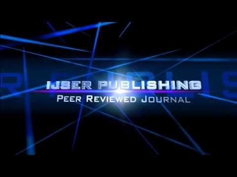 Ijser Internationa Journal International Journal Of Scientific