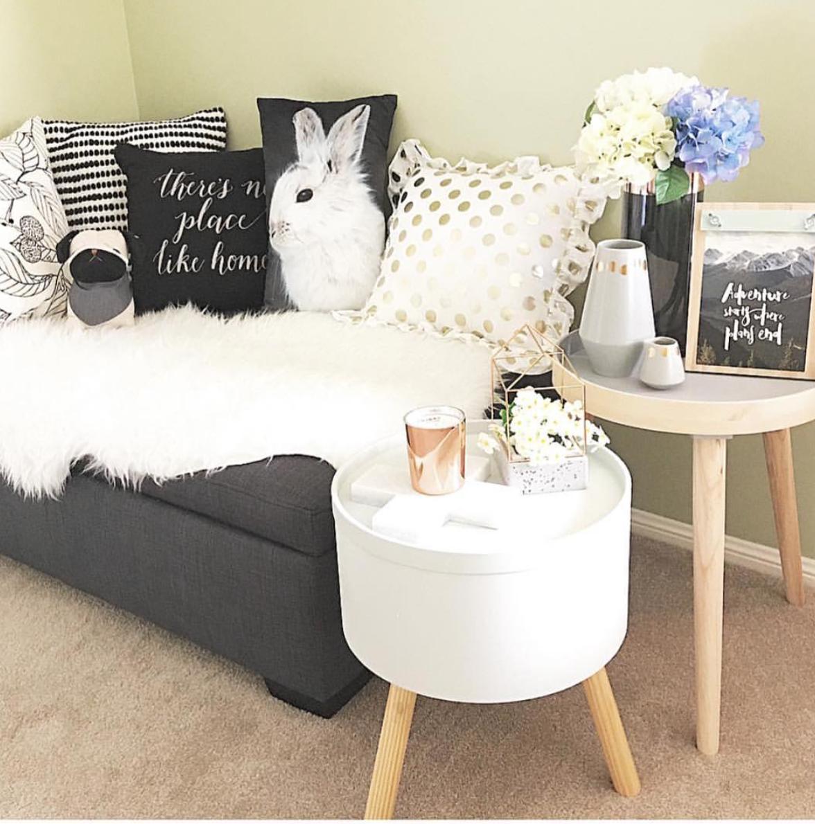 Rabbit Cushion from Big W Kmart decor, Home, Home decor