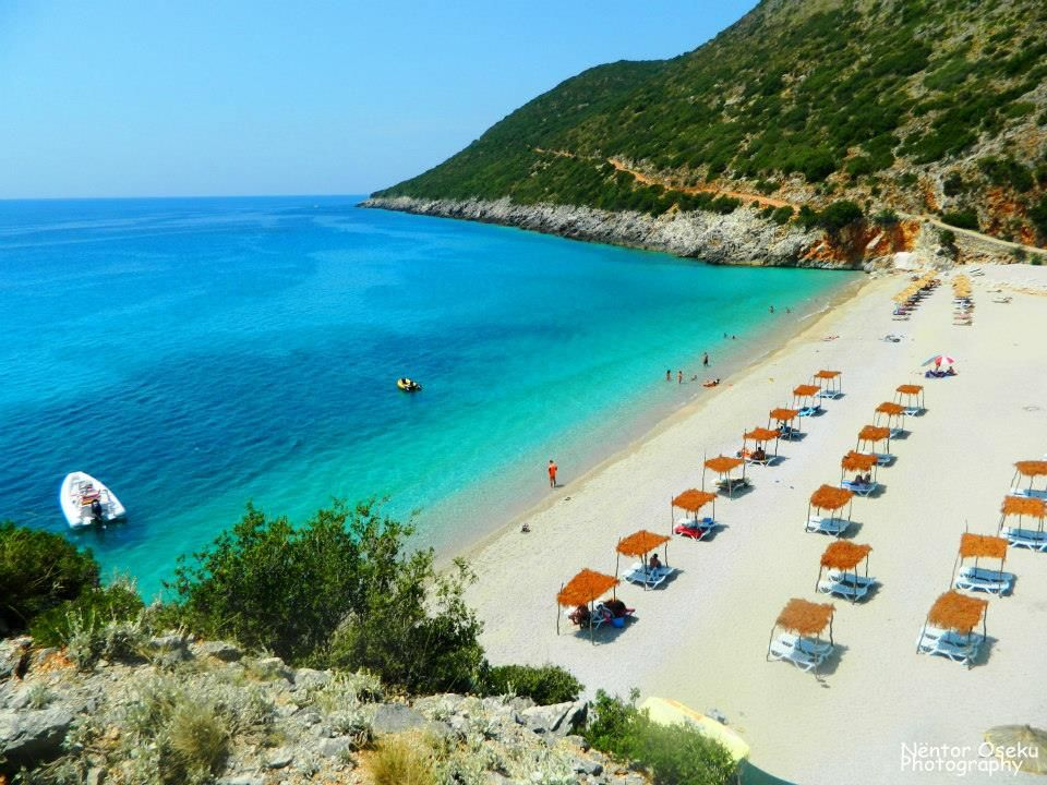 3. Walking on Albanian sunshine - Gjipe beach, canyon and cave ...