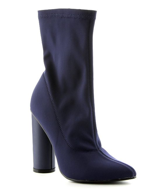 Navy Paw Boot