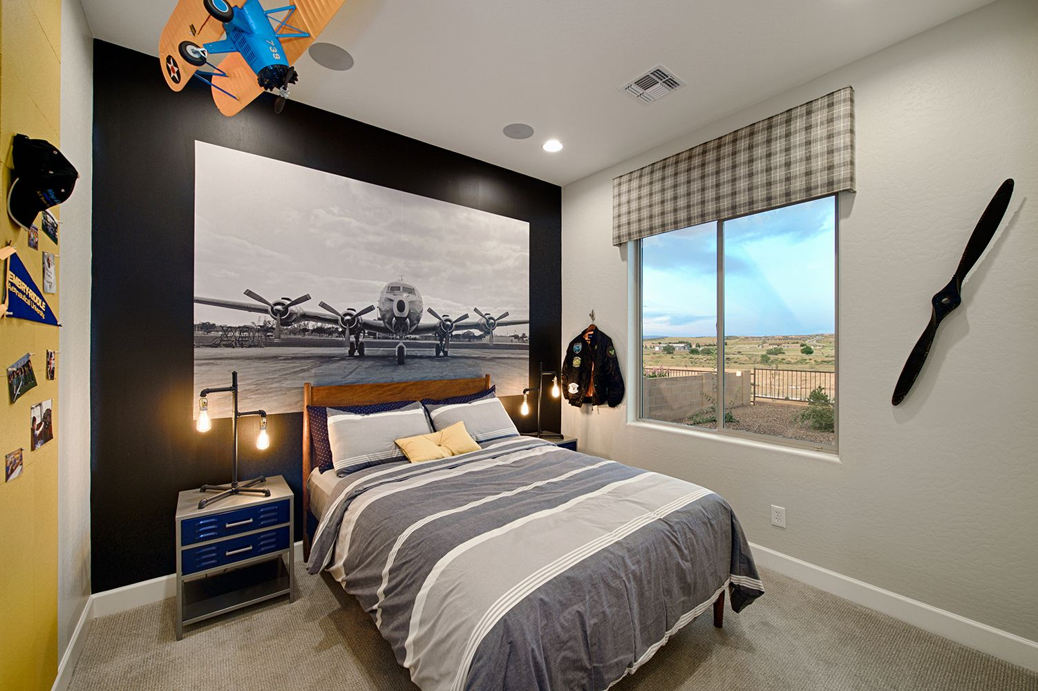 Walden Farms by Dorn Homes Sunflower Model Aviation Themed Boys