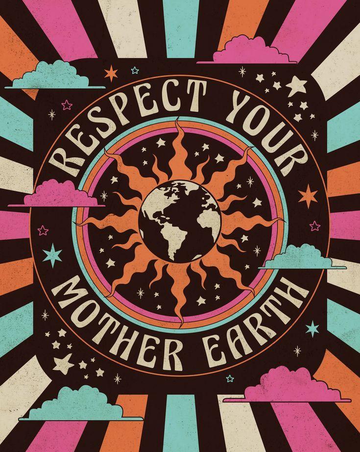 Respect Mother Earth Art Print