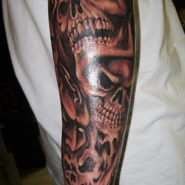 Glorious Urban Tattoo 5 Urban Sleeve Tattoo On Tattoochief Com Skull Sleeve Tattoos Half Sleeve Tattoos For Guys Sleeve Tattoos