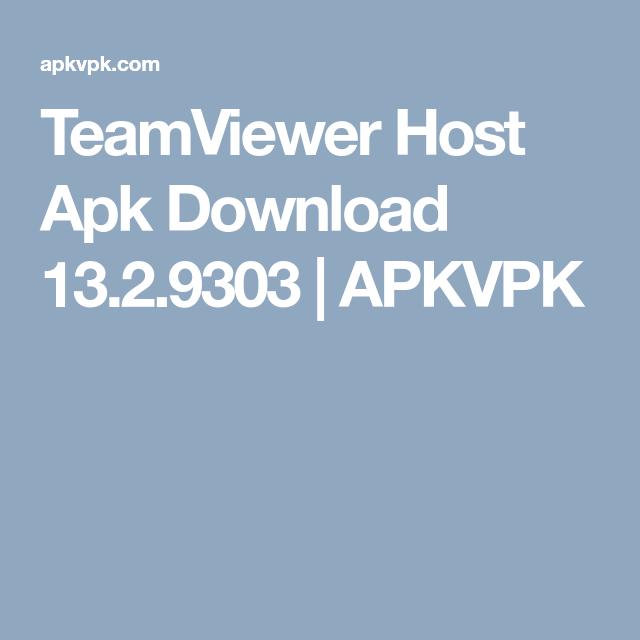 TeamViewer Host Apk Download 13 2 9303 | APKVPK