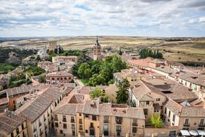 View of Segovia from the Bell Tower