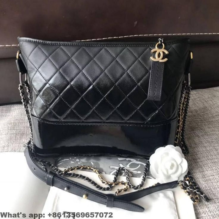dbbff5b90678 Chanel Gabrielle Medium Hobo Bag In Patent Goatskin Goatskin A93824 2018   hobobags hobo