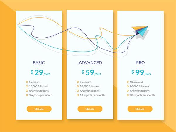 40 Pricing Table Design Ideas For Designers Naldz Graphics Website Design Pricing Web Design Quotes Web Design Pricing