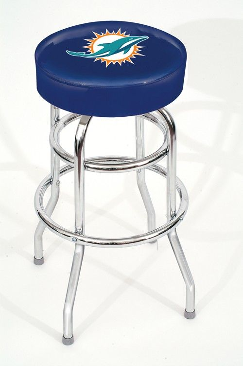 Miami Dolphins NFL Pub/Bar Stool -Game Room/Kitchen