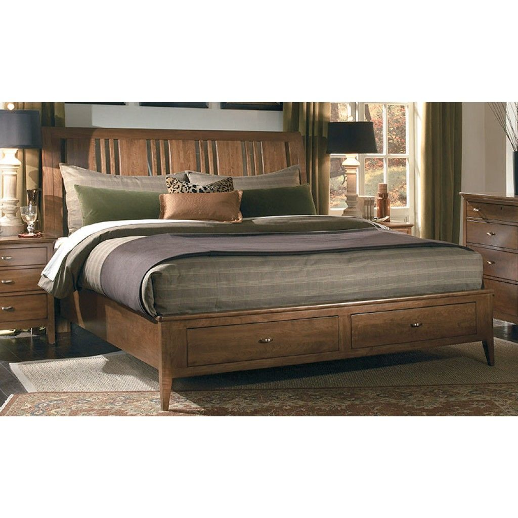 Solid Cherry Queen Bed Kincaid furniture, Furniture