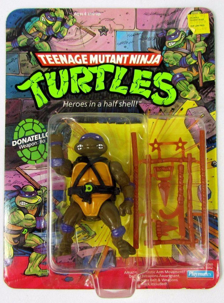 1 of 4 Shredder Teenage Mutant Ninja Turtles Figure 1988 Edition