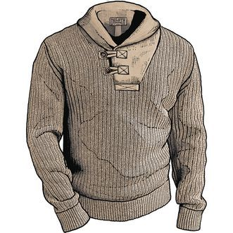 Men s High-Neck Infantry Sweater  f459a1a77
