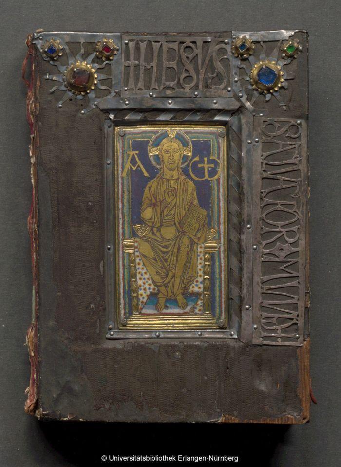 Universitätsbibliothek Erlangen-Nürnberg, Front Cover – Quattuor Evangelia – UER MS 10 / 1